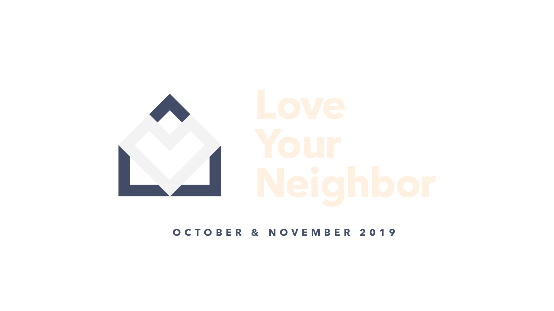 Love Your Neighbor – Logo